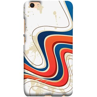 FUSON Designer Back Case Cover For Oppo F3 (Vector Digital Illustration Best Wallapper Pattern)