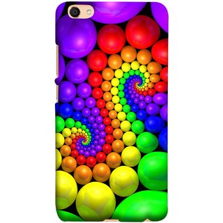 FUSON Designer Back Case Cover For Oppo F3 (Colourful Stones Easter Egg Games Children Enjoy Playing)