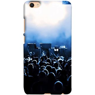 FUSON Designer Back Case Cover For Oppo F3 (Dancers Singers Instruments Piano Musical Concert)