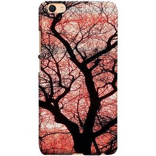 FUSON Designer Back Case Cover For Oppo F3 Plus (Trees Gardens Big Old Jungle Branches Birds Singing)