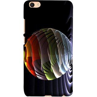 FUSON Designer Back Case Cover For Oppo F3 Plus (Red Bubbles Unique Whimsical Fantasy Fine Art Spots)