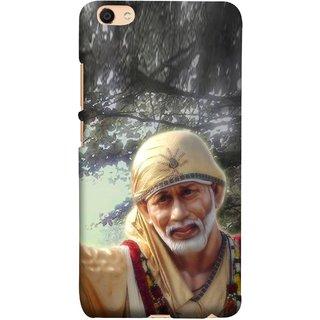 FUSON Designer Back Case Cover For Oppo F3 Plus (Shirdi Wale Sai Baba Sainath God Shradha Saburi Pooja)