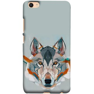 FUSON Designer Back Case Cover For Oppo F3 Plus (Multicolour Dogs Perfect Look King Bird Night Tree)
