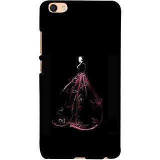 FUSON Designer Back Case Cover For Oppo F3 Plus (Cloth Design Dark Pink Baby Maroon Paper Sheet )