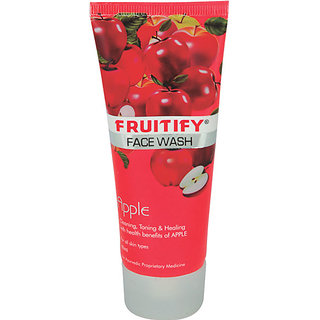 Fruitify Apple Mild Face Wash (Pack of 5 )