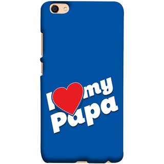 FUSON Designer Back Case Cover For Oppo F3 Plus (Hearts Stars Daddy Father Stars Heart Colourful Lovely)