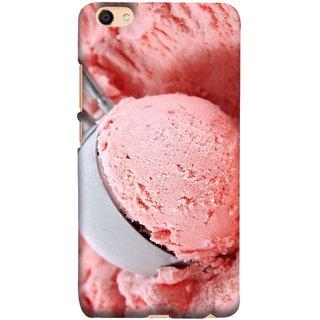 FUSON Designer Back Case Cover For Oppo F3 Plus (Best Fresh Strawberry Ice Cream Homemade Recipes)