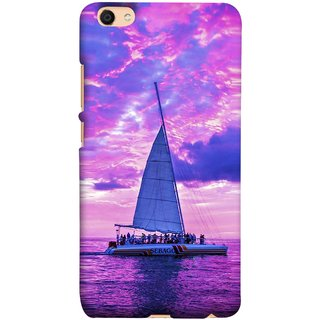 FUSON Designer Back Case Cover For Oppo F3 (Country World Asia Africa Cruise Wallpaper Painting)