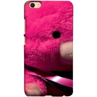 FUSON Designer Back Case Cover For Oppo F3 Plus (Best Gift For Valentine Friends Lovers Couples Baby Pink Red )