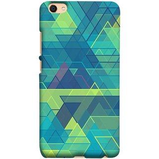 FUSON Designer Back Case Cover For Oppo F3 Plus (Hexagonal Shape Abstract Pattern Geometric Shapes )