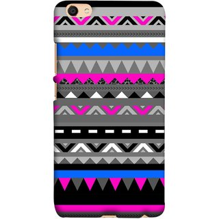 FUSON Designer Back Case Cover For Oppo F3 Plus (Tribal Patterns Colourful Eye Catching Verity Different )
