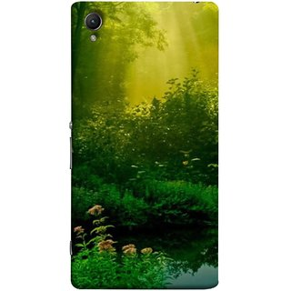 FUSON Designer Back Case Cover For Sony Xperia Z3+ :: Sony Xperia Z3 Plus :: Sony Xperia Z3+ Dual :: Sony Xperia Z3 Plus E6533 E6553 :: Sony Xperia Z4 (Tropical And Subtropical Coniferous Forests Wallpaper)