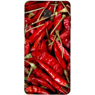 FUSON Designer Back Case Cover For Samsung Galaxy C7 Pro (India Business Hot Sauces Farm Fresh Pickles Kitchen)