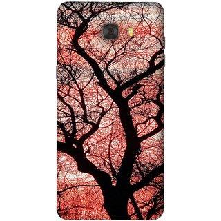 FUSON Designer Back Case Cover For Samsung Galaxy C7 Pro (Trees Gardens Big Old Jungle Branches Birds Singing)