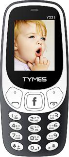 Tymes Y331  Dual Sim, 1.8 inch Display, 1000 Mah Battery, Grey