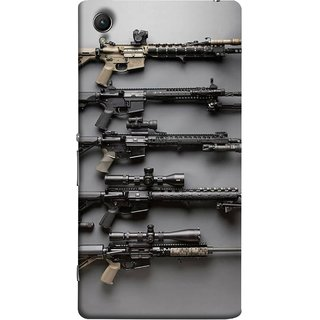 FUSON Designer Back Case Cover For Sony Xperia Z3+ :: Sony Xperia Z3 Plus :: Sony Xperia Z3+ Dual :: Sony Xperia Z3 Plus E6533 E6553 :: Sony Xperia Z4 (Rounds Ammunition Bullets Guns Aurora Murders)