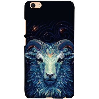 FUSON Designer Back Case Cover For Oppo F3 Plus (Bail Goat Horn Strong Bakara Style Design)