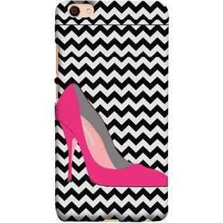 FUSON Designer Back Case Cover For Oppo F3 Plus (High Pencil Heel For Girls Womans Professional)