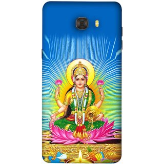 FUSON Designer Back Case Cover For Samsung Galaxy C9 Pro (Maa Dhan Lakshmi Hindu Parvati Saraswati Shankar)