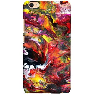 FUSON Designer Back Case Cover For Oppo F3 Plus (Art Gallery Style Wallpaper Wow Perfect Wall Paint)