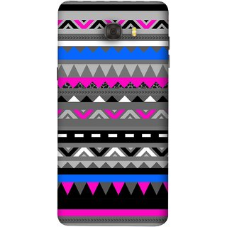 FUSON Designer Back Case Cover For Samsung Galaxy C9 Pro (Tribal Patterns Colourful Eye Catching Verity Different )
