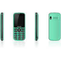 Peace P4 -Green and Black(1.8 inch, Dual sim, BIS certified, Made in India)