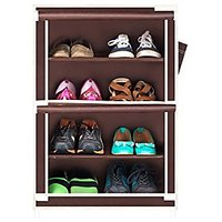 CbeeSo Stainless Steel Shoe Cabinet (Brown - CB 400)