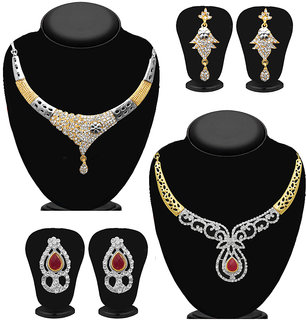 Meia Set of 2 Necklace Combo-PAA1882