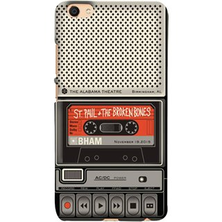 FUSON Designer Back Case Cover For VIVO Y66 (Vintage Alabama Theatre St Paul The Broken Bones )