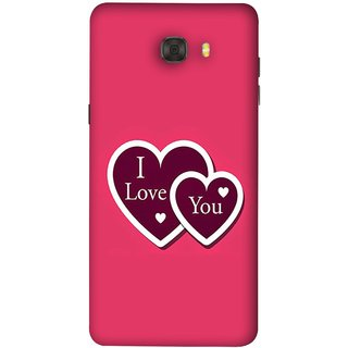 Buy Fuson Designer Back Case Cover For Samsung Galaxy C9 Pro Pink