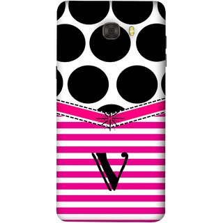 FUSON Designer Back Case Cover For Samsung Galaxy C9 Pro (Beautiful Cute Nice Couples Pink Design Paper Girly V)