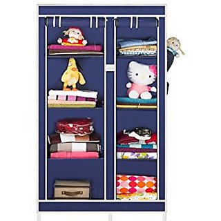 CbeeSo 8 Racks Portable Cupboard Closet With 2 Years Warranty.( CB265-Nb)