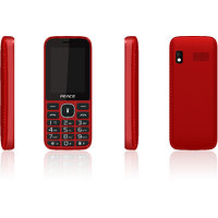 Peace P8 -Red (2.4 inch, Dual sim,1500 Mah Battery, BIS Certified, Made in India)