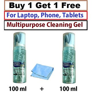 Screen Cleaning A1 Gel Kit For alcatel Idol 4s Windows Buy 1 get 1 Free 100  ml + 100 ml
