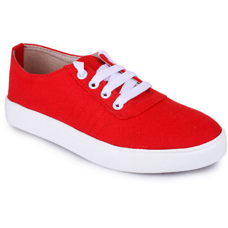 Funku Fashion Red Casual Shoes