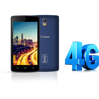 Ziox Astra Blaze 4G (1 GB/ 8 GB/ Black)