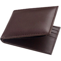 Unique Stylish Look Genuine Leather Brown Wallet (Spr-002)