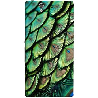 FUSON Designer Back Case Cover For Sony Xperia Z :: Sony Xperia ZC6603 :: Sony Xperia Z L36h C6602 :: Sony Xperia Z LTE, Sony Xperia Z HSPA+ (Colourful Psychee Vibrant Colors Modern Art Silk Paintings )