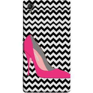FUSON Designer Back Case Cover For Sony Xperia Z5 :: Sony Xperia Z5 Dual 23MP (High Pencil Heel For Girls Womans Professional)