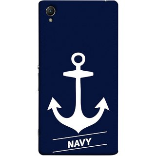 FUSON Designer Back Case Cover For Sony Xperia Z5 :: Sony Xperia Z5 Dual 23MP (Sea Ocean Nevy Soldiers Fighter Plains Ultrasonic )
