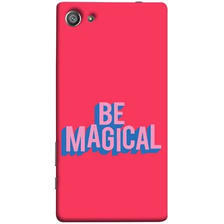 FUSON Designer Back Case Cover For Sony Xperia Z5 Compact :: Sony Xperia Z5 Mini (Wand Magically Make Differnece To Others Life )