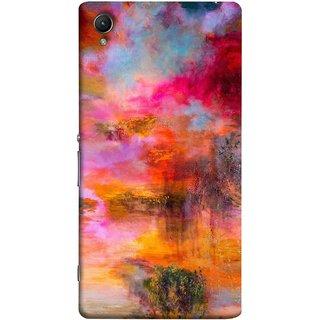 FUSON Designer Back Case Cover For Sony Xperia Z5 Premium :: Sony Xperia Z5 4K Premium Dual (Random Painting Rare Beautiful Husain Chitrakar Nice)