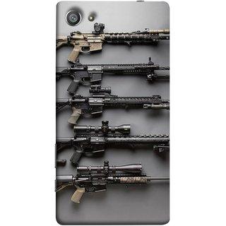 FUSON Designer Back Case Cover For Sony Xperia Z5 Compact :: Sony Xperia Z5 Mini (Rounds Ammunition Bullets Guns Aurora Murders)
