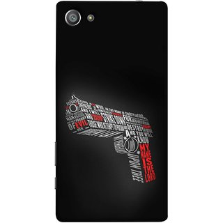 FUSON Designer Back Case Cover For Sony Xperia Z5 Compact :: Sony Xperia Z5 Mini (My Name Is The God Upon Thee Evil New Strike Down)