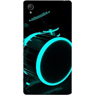FUSON Designer Back Case Cover For Sony Xperia Z5 Premium :: Sony Xperia Z5 4K Premium Dual (Lighted Drums Led Light Up Drum Set Drum Lights )