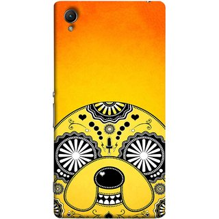 FUSON Designer Back Case Cover For Sony Xperia Z5 Premium :: Sony Xperia Z5 4K Premium Dual (Top Dog Breeds For Stress Relief Dog Lover Gifts)