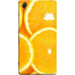 FUSON Designer Back Case Cover For Sony Xperia Z5 Premium :: Sony Xperia Z5 4K Premium Dual (Lemon Agriculture Background Bud Candy Cell)
