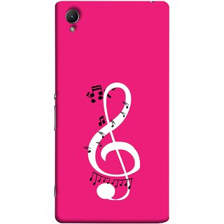 FUSON Designer Back Case Cover For Sony Xperia Z5 Premium :: Sony Xperia Z5 4K Premium Dual (Disc Music Notes Music Lover And Collector )