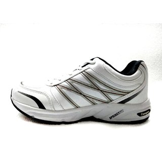 Campus STROK WHT/D.GRY/RST Men Running Shoes