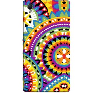 FUSON Designer Back Case Cover For Sony Xperia Z5 :: Sony Xperia Z5 Dual 23MP (Best Rangoli Patterns Treditional Photo Wallpapers )